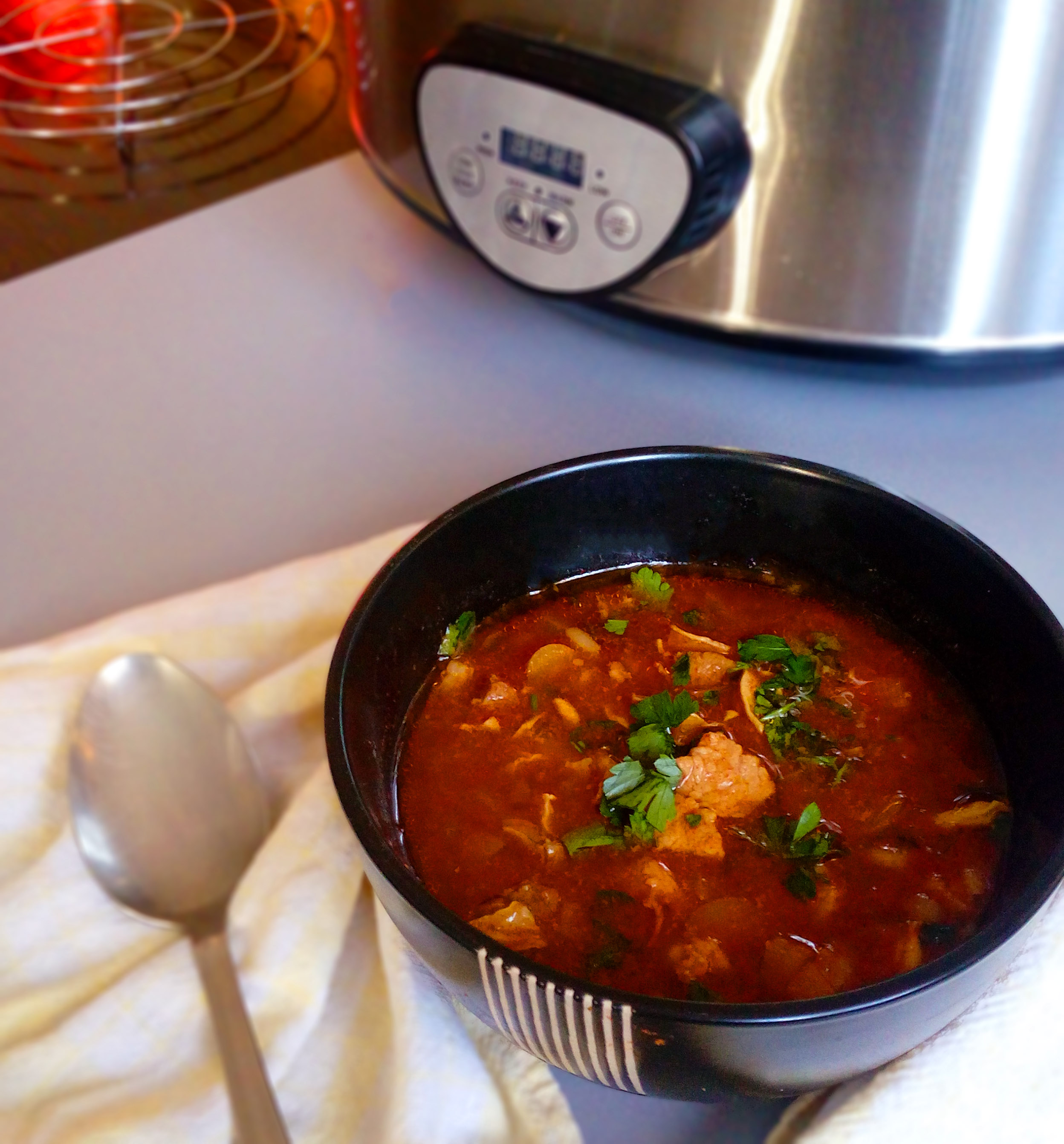 Is there a better way to warm up these cold days than with a bowl of hot Goulash soup? This Hungarian dish is just what you need!   Healthy Food Recipes   simplyanchy.com