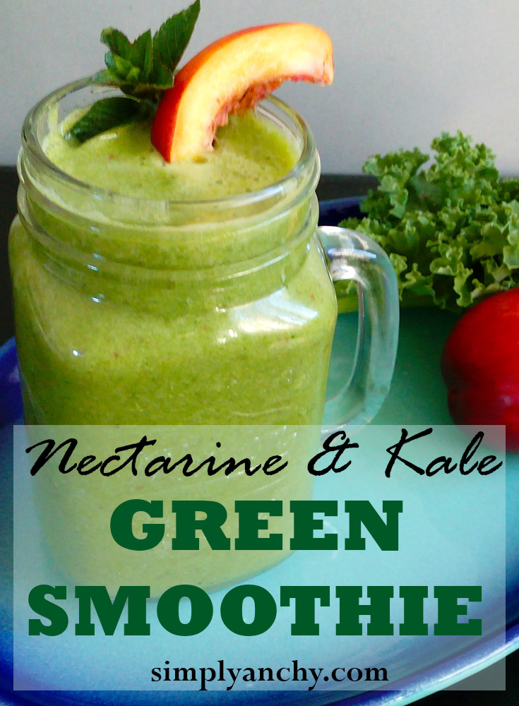 Green Smoothie is an excellent way to intake leafy greens. They are packed with fiber and nutrients, and that makes green smoothie the best way to get you daily serving of greens. | Healthy Food Recipes | simplyanchy.com
