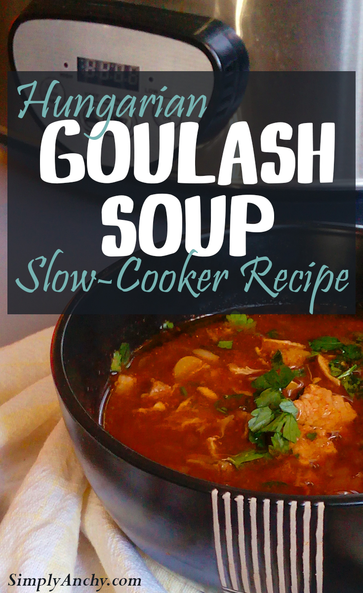 Is there a better way to warm up these cold days than with a bowl of hot Goulash soup? This Hungarian dish is just what you need! | Healthy Food Recipes | simplyanchy.com