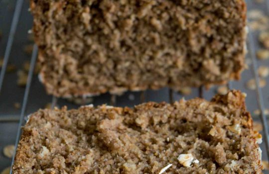 Quick Rye Flour and Oats Bread