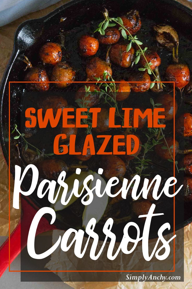 sweet glazed lime parisienne carrots recipe